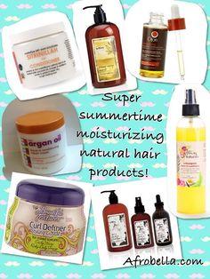 Deep Impact - New, Super Summertime Moisturizing Natural Hair Products - Afrobella