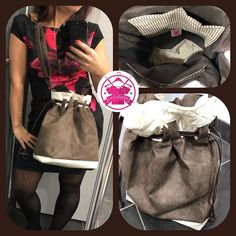 Izzie créations sur Instagram: La gagnante du concours a récupéré son cadeau surprise d'une valeur de 60€ je peux donc vous le montrer . Un sac calypso en simili cuir .…