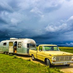 Ford and airstream