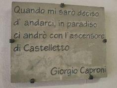 ascensore del Castelletto a Genova