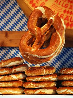 I could live on Balla Balla, German beer and these pretzels!! (With clogged arteries no doubt lol)