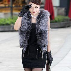 Fashion Sexy Fur Waistcoat  [L821069]