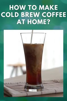 Everything you need to know about how to make cold brew coffee at home! Follow this easy DIY recipe to make cold brew coffee with the perfect ratio in your French Press. #coldbrew #coffee #coldbrewcoffee #drink #beverage Cold Drip Coffee Maker, Cold Brew Coffee Recipe, Coffee Ice Cubes, Making Cold Brew Coffee, Coffee Drinks, Coffee Type, Best Coffee, Coffee Health Benefits, Diy Recipe