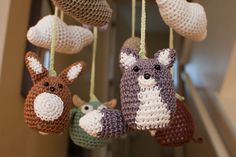 One of the cutest mobiles I've seen so far... Babies'R'Us has nothing on Etsy.
