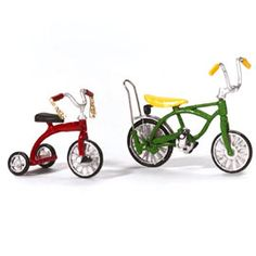 "Department 56: Products - ""Village Bicycle And Tricycle"" - View Products"