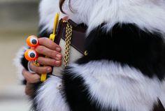 wiggle eye ring (Anna Dello Russo)