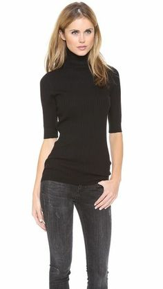 Rock your turtleneck #Cuveestyle. Chilly temps = practical + pretty. www.stylelist.com