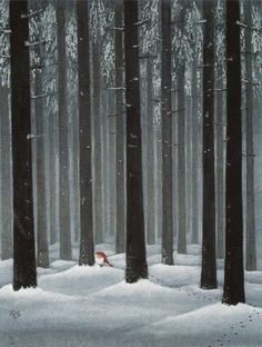 "dahliafyodorovna: "" Artwork by Lennart Helje II Painter, illustrator, born in in Lima.He paints Christmas cards with elves in snowy landscapes. Illustration Noel, Winter Illustration, Christmas Illustration, Illustrations, Swedish Christmas, Scandinavian Christmas, Christmas Art, Boxed Christmas Cards, Nordic Art"