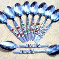 Beaded Teaspoon with Personalised Thank You Card. 50 spoons at R26.10 each. Comes to $3.15.