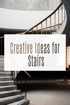 Do you make the most of your stairs? From simple stair DIY to full on creative staircases being renovated there really are so many ways to make your stairways more exciting. Often forgotten a staircase makeover can make a huge difference #stairs #stairways #staircase #stairscases #stairway Stairs Vinyl, Staircase Makeover, Painted Stairs, Home Hacks, Stairway, Staircases, Simple House, Beautiful Space, Easy Projects
