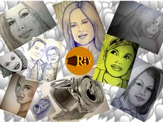 Portraits, Animation, Illustration, Art, Art Background, Head Shots, Kunst, Illustrations, Animation Movies