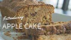 Porty's Diary: Food | Apple Cake  applecake | cake | recipe | bolo | receita | foodie