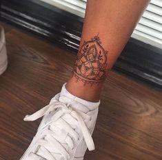 // - Tattooed Women - - Tattoos - - diy tattoo images - Tattoo Designs For Women Tattoo Platzierung, Tattoo Style, Piercing Tattoo, Tattoo On Leg, Chakra Tattoo, Small Tattoo Placement, Cool Small Tattoos, Tattoo Placements, Mandala Tattoo Design