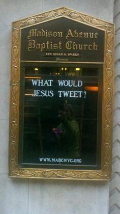 Madison Avenue Baptist Church Signs