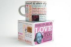 Shakespearean Love mug.