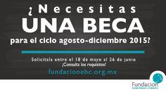 Postúlate para una beca de Fundación EBC y empieza o continúa con tus estudios profesionales.  Ingresa a www.fundacionebc.org.mx y realiza tu registro.