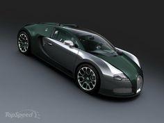 2013 Bugatti Veyron 16.4 Grand Sport Green Carbon