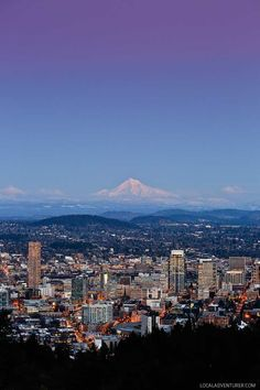 Find out where to find the best view of Portland // http://localadventurer.com