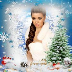 Winter Wonderland ThankYou for choosing my Kimi! Christmas Pictures, Winter Wonderland, Merry Christmas, Happy Birthday, Photoshoot, Disney Princess, Frames, Xmas, Merry Little Christmas