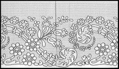 Lace of the Month: Bucks - January 2011 similar to Buckinghamshire design