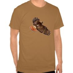 Red-Tail Hawk Wildlife T-Shirt