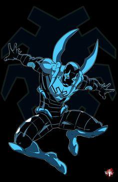 DC Comics Imagines - Blue Beetle (Young Justice) x Reader Comic Books Art, Comic Art, Book Art, Superhero Villains, My Superhero, Dc Comics Art, Marvel Dc Comics, Marvel Vs, Blue Beetle Young Justice