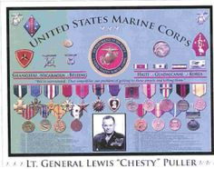 Chesty Puller Ribbons | chestey puller 2ndlt puller at flight school untitled distinguished ...