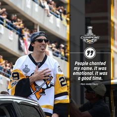 on the Stanley Cup Parade crowd. #BurghProud