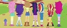 Hasbro Studios, Equestria Girls, My Little Pony, Animation, Character, Art, 7 Sins, Art Background, Kunst