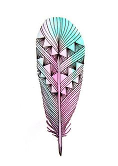 aztec feather, the incas and aztecs are both very artistic cultures, they used lots of bright colors.