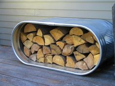 wood storage-we even have one already!