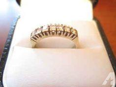 Diamond 7 - Stone Ring - $325 (Austin-Westlake/Lakeway area)