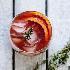 Rum Spiked Blood Orange Tea Cocktail. Get this #recipe and 60+ more at ...