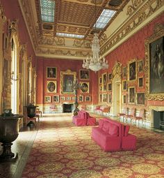 Apsley House, Hyde Park, London Townhouse Interior, Palace Interior, London Townhouse, Country House Interior, Country Houses, Exterior Design, Interior And Exterior, Inside Castles, English Interior
