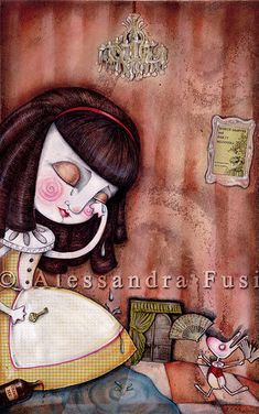 Alice-A lake of tears   Flickr - Photo Sharing!