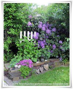 broceliandes gartenträume - ein cottage garten im bergischen land, Garten und Bauten