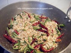 Thambale Puddi ~ Roasted Coconut Chutney Powder - Step by Step Recipe