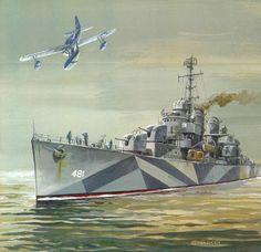USS Leutze (Destroyer)