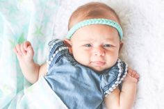 22 Colors Braided Skinny Boho Headband Baby by hollyblossoms