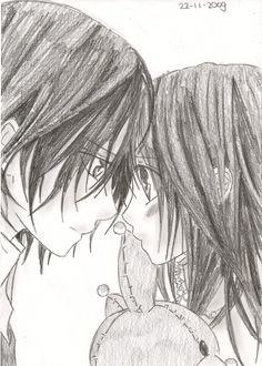 kaname and Yuuki by Annasanvk.deviantart.com on @deviantART