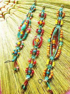 Made by Aow Dusdee #handmade #jewelry #bracelet #necklace #beading
