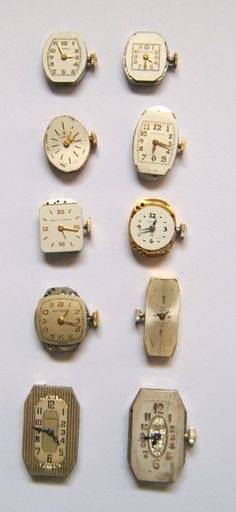 antique wrist watches
