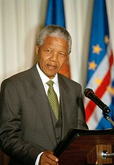 Nelson Mandela becomes president of South Africa.