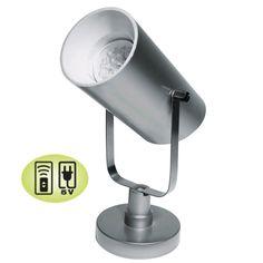 Battery Operated LED Can Light - Nu Tek 4 SMT Updated Uplight, Spot Light - Remote Control Compatible