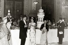of Iran's Former Queen Fawzia Faud, sister of King Farouk of Egypt who was married to Shah Mohamed Reza Pahlavi with whom she had a daughter Princess . Mohamed Ali, Ancient Egypt History, African Royalty, Old Egypt, Cairo Egypt, Religious Ceremony, Egypt Travel, Cool Photos, Wedding Cakes