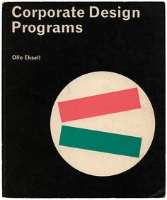 'Corporate Design Programs' by Olle Eksell (1967)