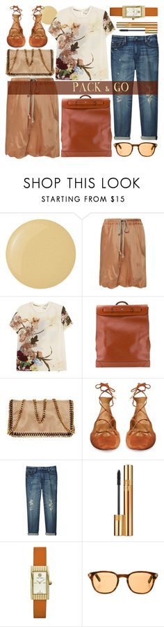 """""""just go already"""" by foundlostme ❤ liked on Polyvore featuring Butter London, Rick Owens, Valentino, Louis Vuitton, STELLA McCARTNEY, Aquazzura, Uniqlo, Yves Saint Laurent, Tory Burch and Oliver Peoples"""