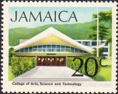 Jamaica 1972 SG 354 College of Arts Fine Mint SG 354 Scott 353 Other British Commonwealth Stamps here