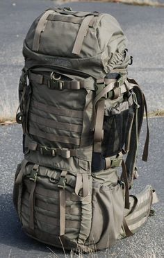 Dream pack. Top loading AND panel loading, which nobody seems to do anymore. I would have gotten this for camping and backpacking with scouts were it not for the price (389.00), but I would LOVE to have this some day... Eberlestock V69 Destroyer Pack