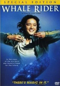 Whale Rider Movie... New Zealand Maori girl who eventually saves the sacred whales and fulfills her destiny as a courageous leader. So beautiful!